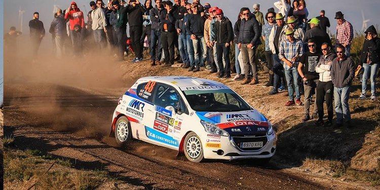 Peugeot Rally Cup Ibérica: Daniel Nunes y Alberto Monarri golpean primero