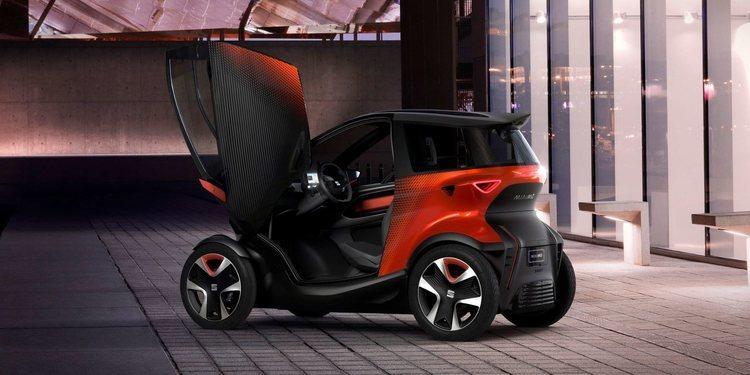 Conoce al SEAT Minimó, el pequeñín eléctrico de la marca española