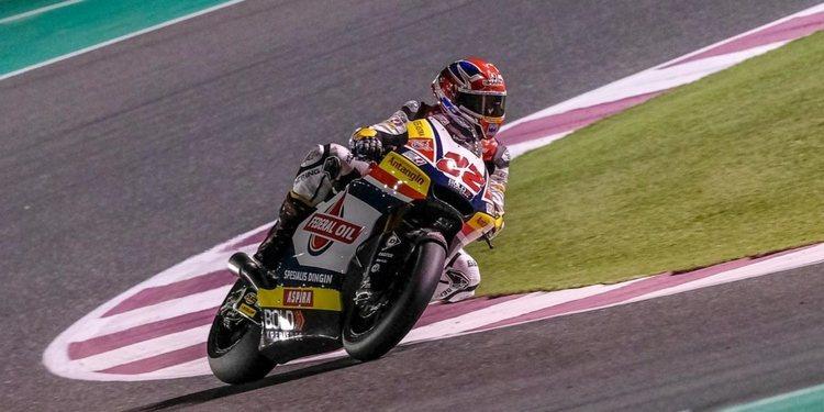 Lowes termina los test de Qatar siendo el más rápido