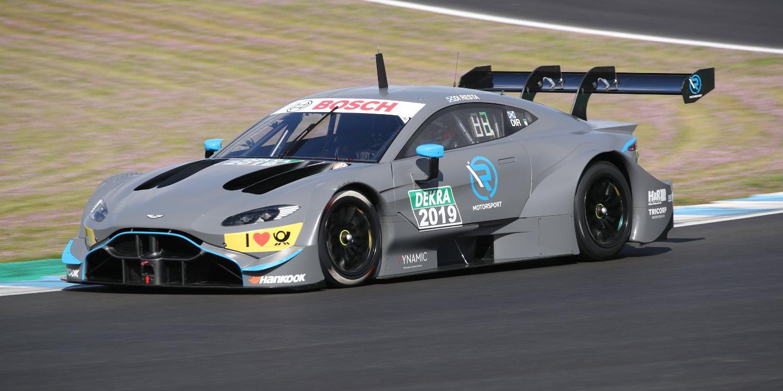 Aston Martin y Dani Juncadella juntos en el DTM 2019