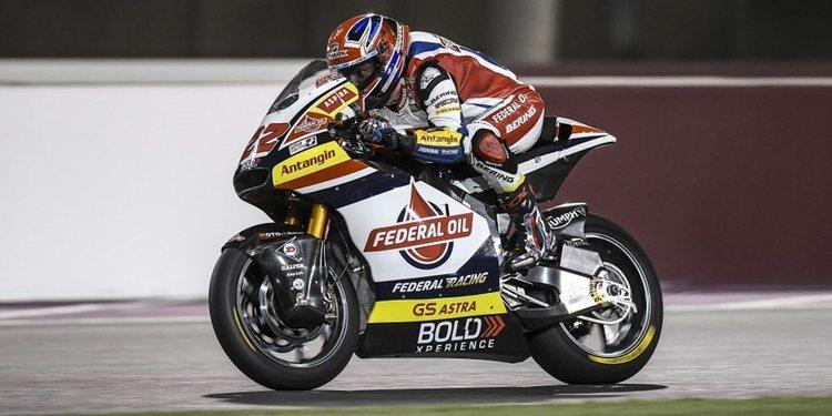 """Sam Lowes, listo para Qatar: """"Quisimos encontrar el límite de nuestra moto"""""""