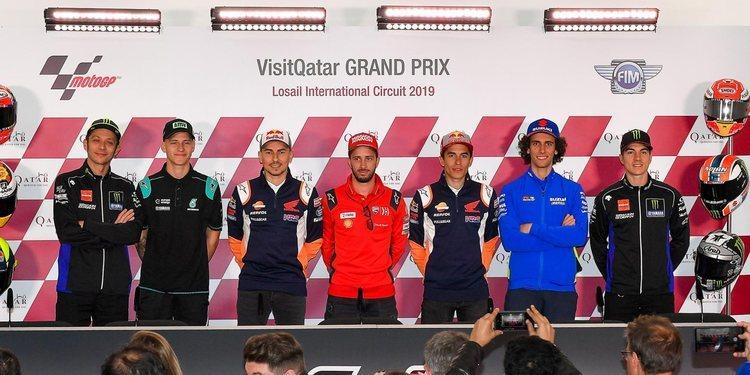 Rueda de prensa del Gran Premio de Qatar 2019