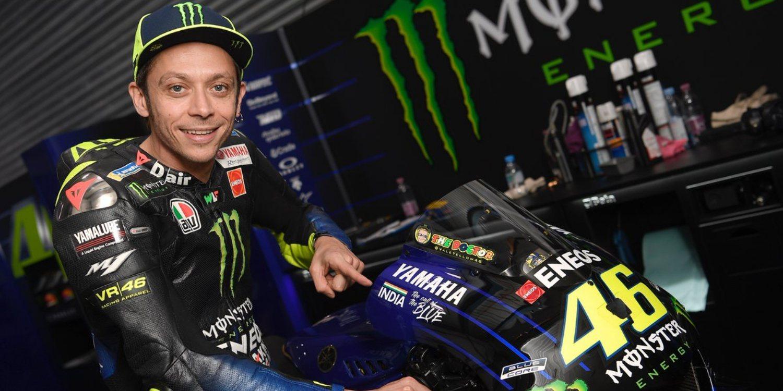 """Valentino Rossi: """"Estoy preocupado, en cinco vueltas destrocé la goma"""""""