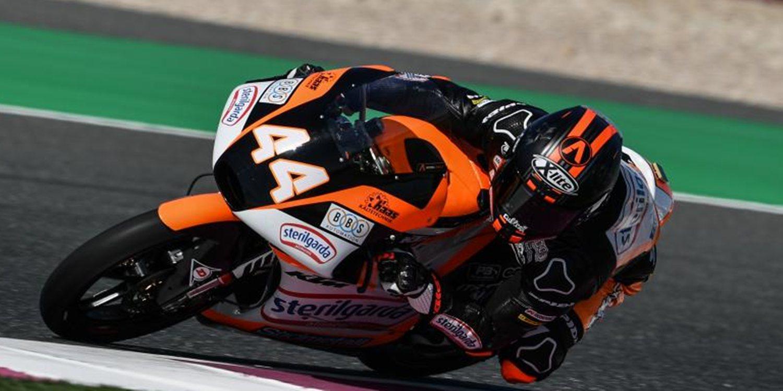 Aron Canet se adjudica la pole en Qatar