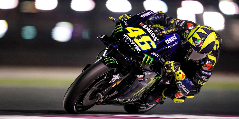 """Valentino Rossi: """"Mi ritmo es muy malo, no soy nada competitivo"""""""