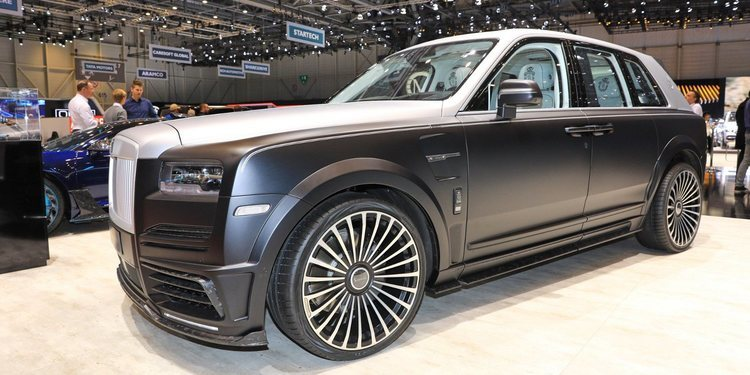 Rolls-Royce Mansory's Cullinan