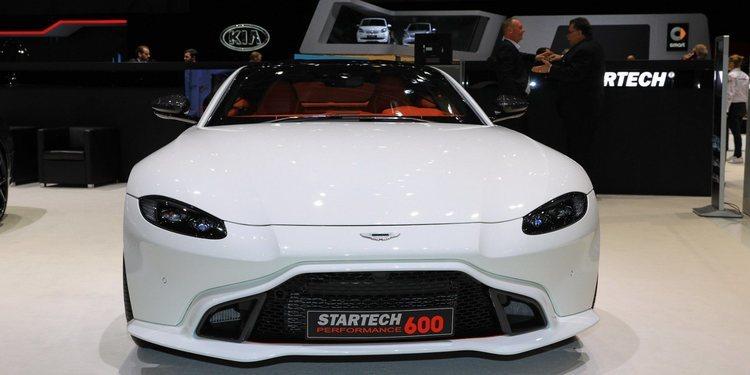 Aston Martin se lució con el Vantage renovado