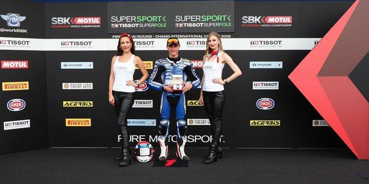 Jules Cluzel firma su primera pole position de la temporada en Buriram