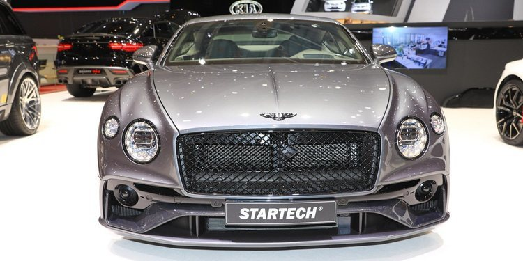 Bentley presentó el Continental GT by Startech