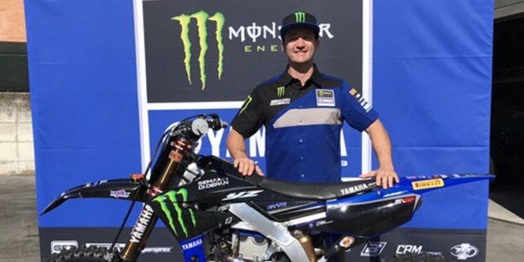 Dean Ferris, sustituto de Romain Febvre durante los próximos grandes premios de MXGP