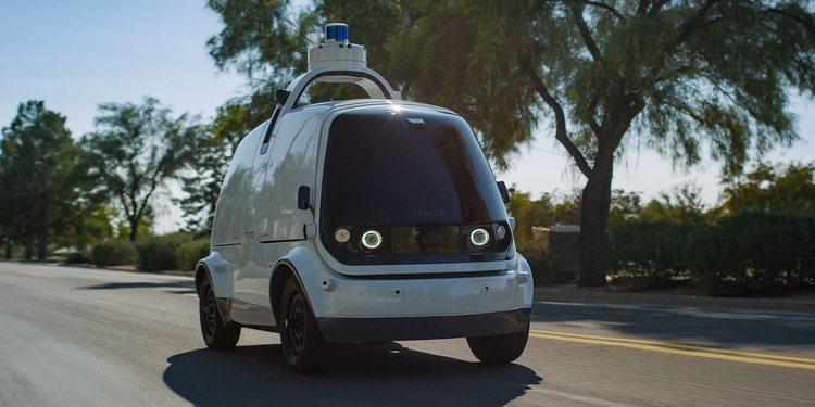 Los robots de Nuro harán entregas en Houston