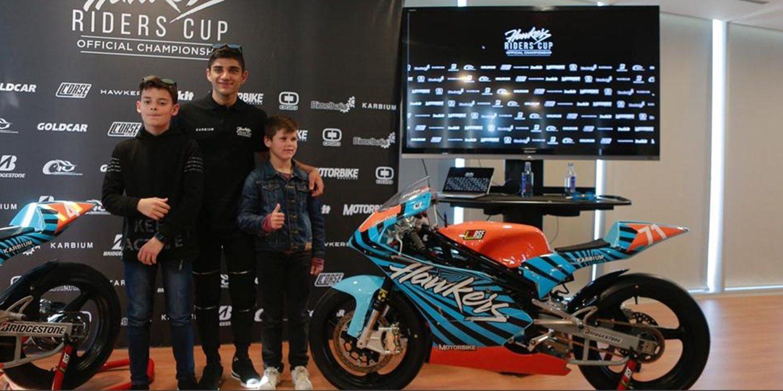 Jorge Martín será el embajador de la 3º Hawkers Riders Cup