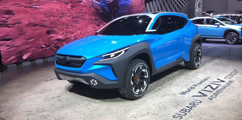 Subaru Viziv Adrenaline Concept 2019