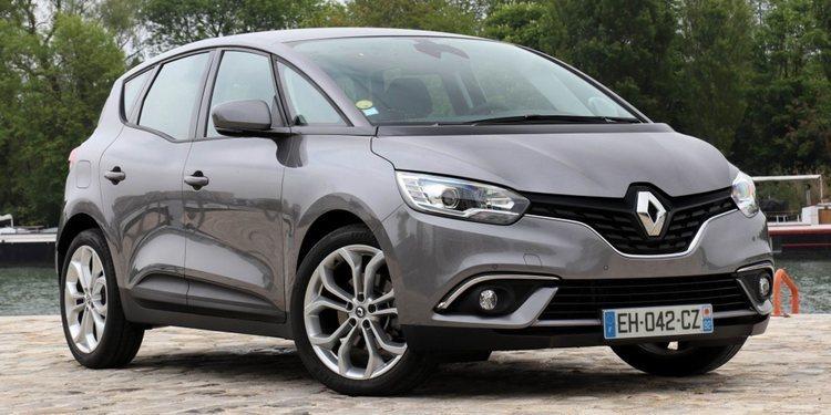 La gama Renault Scénic recibe ligeros cambios
