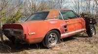 Aparecio este Ford Shelby GT500 EXP Prototype de 1967 en total abandono