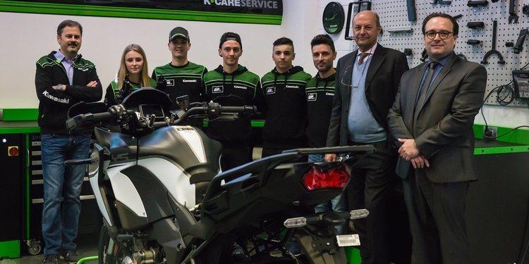 Se presenta el Kawasaki GP Project