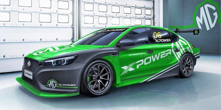 MG prepara un coche para las TCR Series