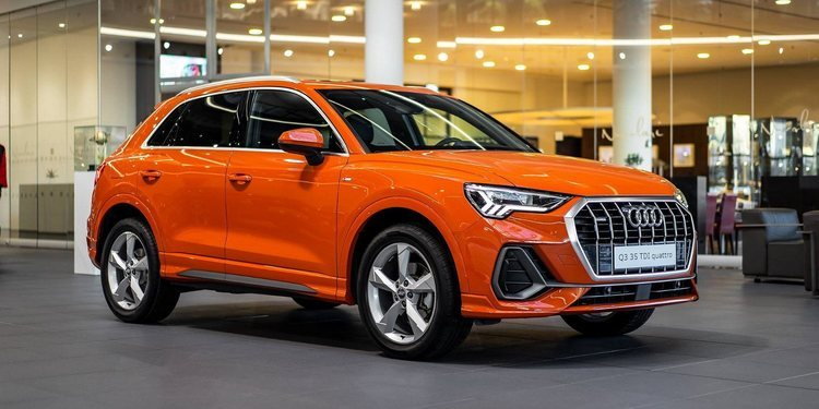 El llamativo Audi Q3 Sports Orange