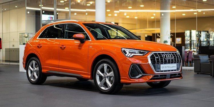 El llamativo Audi Q3 Sports Orange
