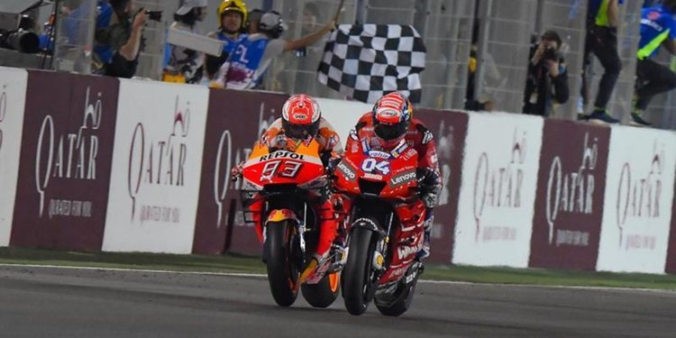 """Marc Márquez: """"Ducati siempre va al límite a nivel técnico, igual que yo en la pista"""""""