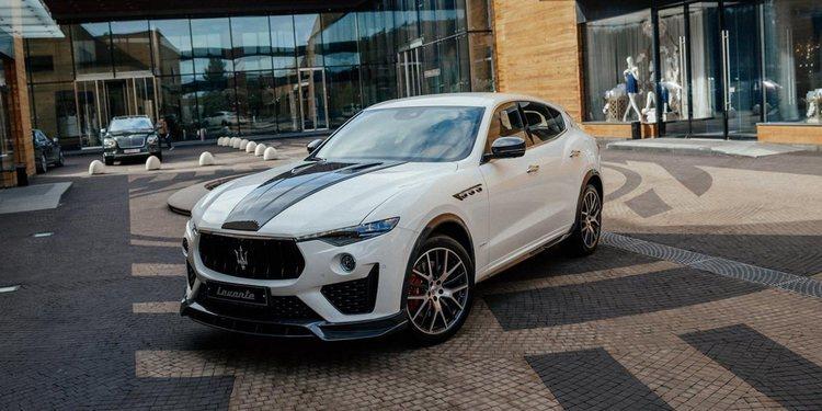 El Maserati Levante de Larte Design