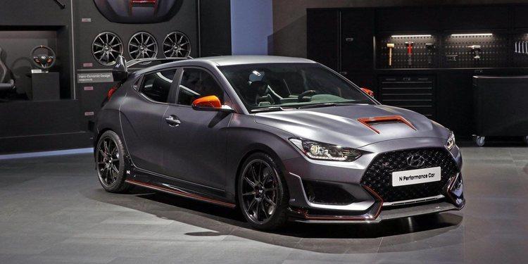 Hyundai presentó el Performance Car Concept