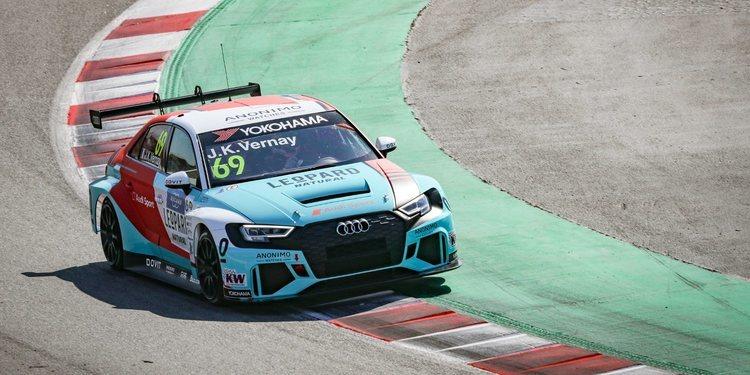 Así es el Audi RS3 LMS TCR de Leopard Racing