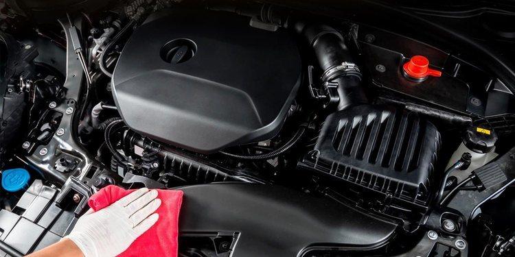Limpieza eficaz de los motores