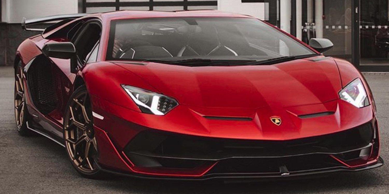 Lamborghini Aventador Rosso Efesto