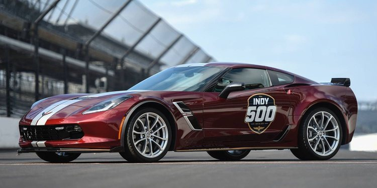 El Corvette Grand Sport 2019 de las Indy 500