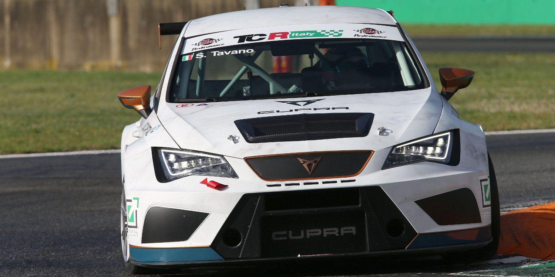 Salvatore Tavano lidera antes de la 'qualy' en Monza