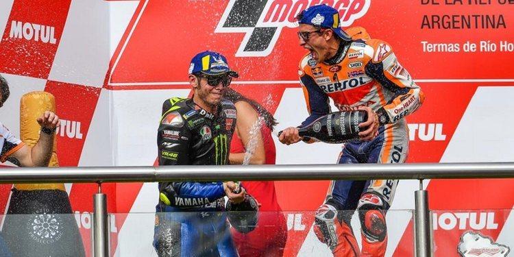 """Marc Márquez sobre Valentino Rossi: """"El tiempo lo pone todo en su sitio"""""""
