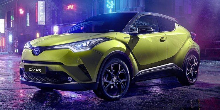El Toyota C-HR Neon Lime de JBL