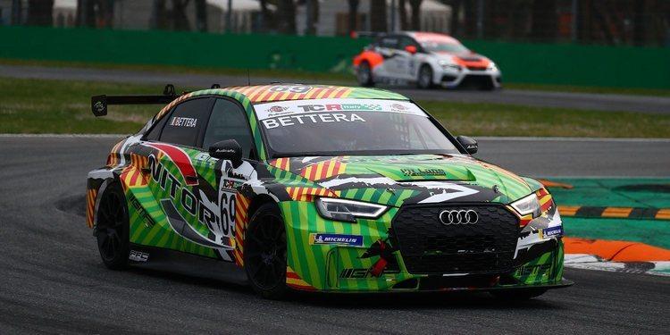Monza lleva a dos pilotos al tercer lugar del podio con Bettera mirando desde el primero