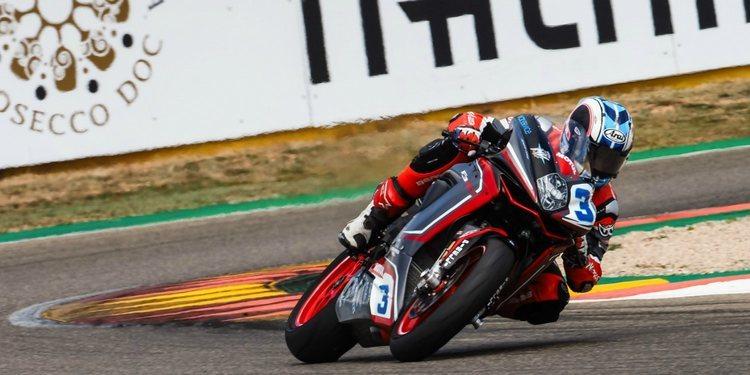 """Raffaele De Rosa: """"La moto ha mejorado mucho"""""""