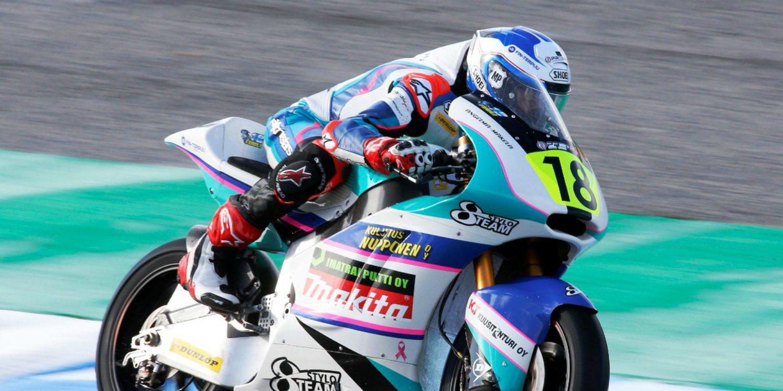Niki Tuuli y Alessandro Zaccone, ganadores de Moto2