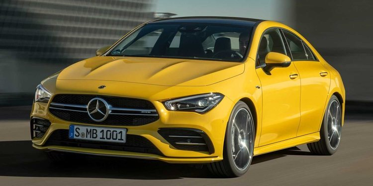 Nuevo Mercedes-AMG CLA 35 4Matic ahora con 306 CV y tracción total