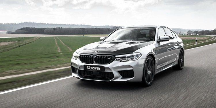 El BMW M5 recibe más potencia por parte de G-Power