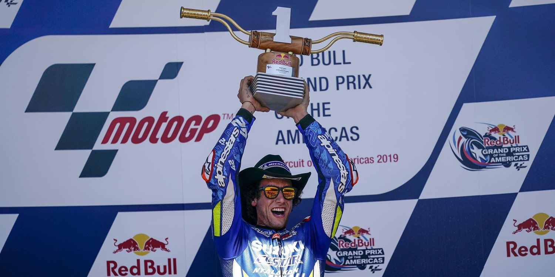 """Álex Rins: """"Cuando tuve a Rossi delante no podía dejarle escapar"""""""