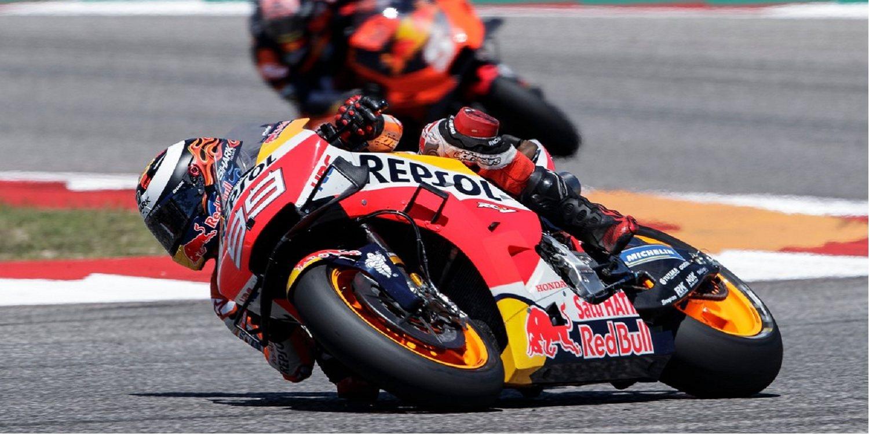 """Lorenzo, sobre el problema en su Honda: """"No puedo hablar de eso"""""""