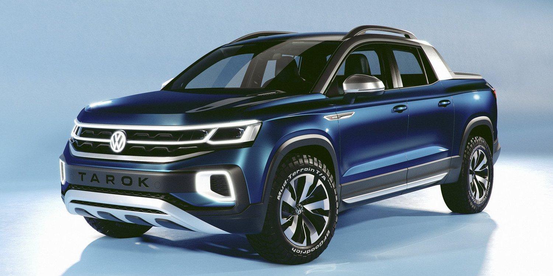 Volkswagen presentará el Tarok Concept
