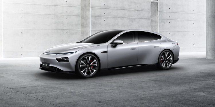 Xpeng Motors revela en Shanghái el nuevo P7
