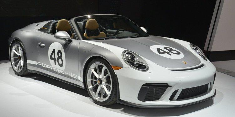 Porsche asombró con el 911 Speedster