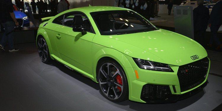 Audi mostró el nuevo TT RS 2020
