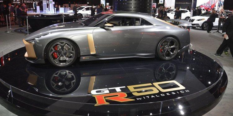 Nissan llevó el GT-R50 by Italdesign a Nueva York