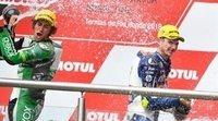 """Valentino Rossi: """"Triumph es una moto muy buena para prepararse para MotoGP"""""""
