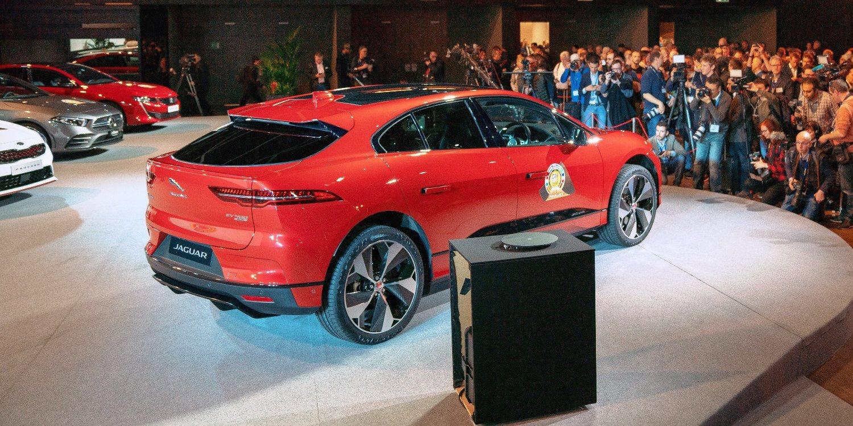 El Jaguar I-Pace gana el premio del mejor auto del año 2019