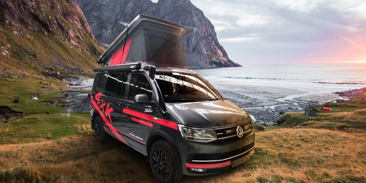 Volkswagen California T6 Red Edition de Klubber