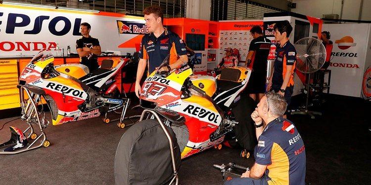 Honda llega a Jerez sin problemas con la cadena