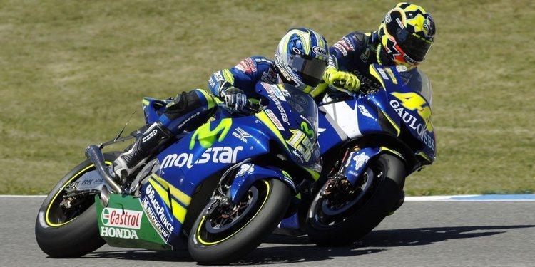 Jerez 2005: El estallido de las hostilidades entre Rossi y Gibernau